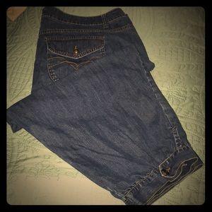Super cute LEI long shorts size 20